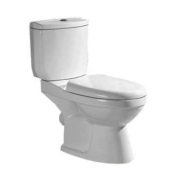 Farns D/Flush Toilet A2132 White