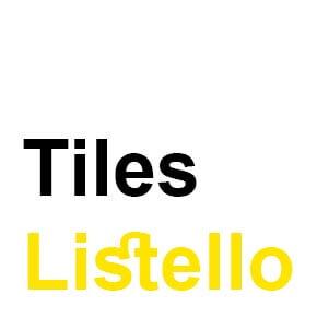 Tiles Listello