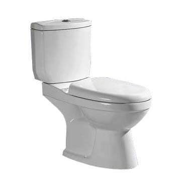 Farns D/Flush Toilet A2132 White S TRAP