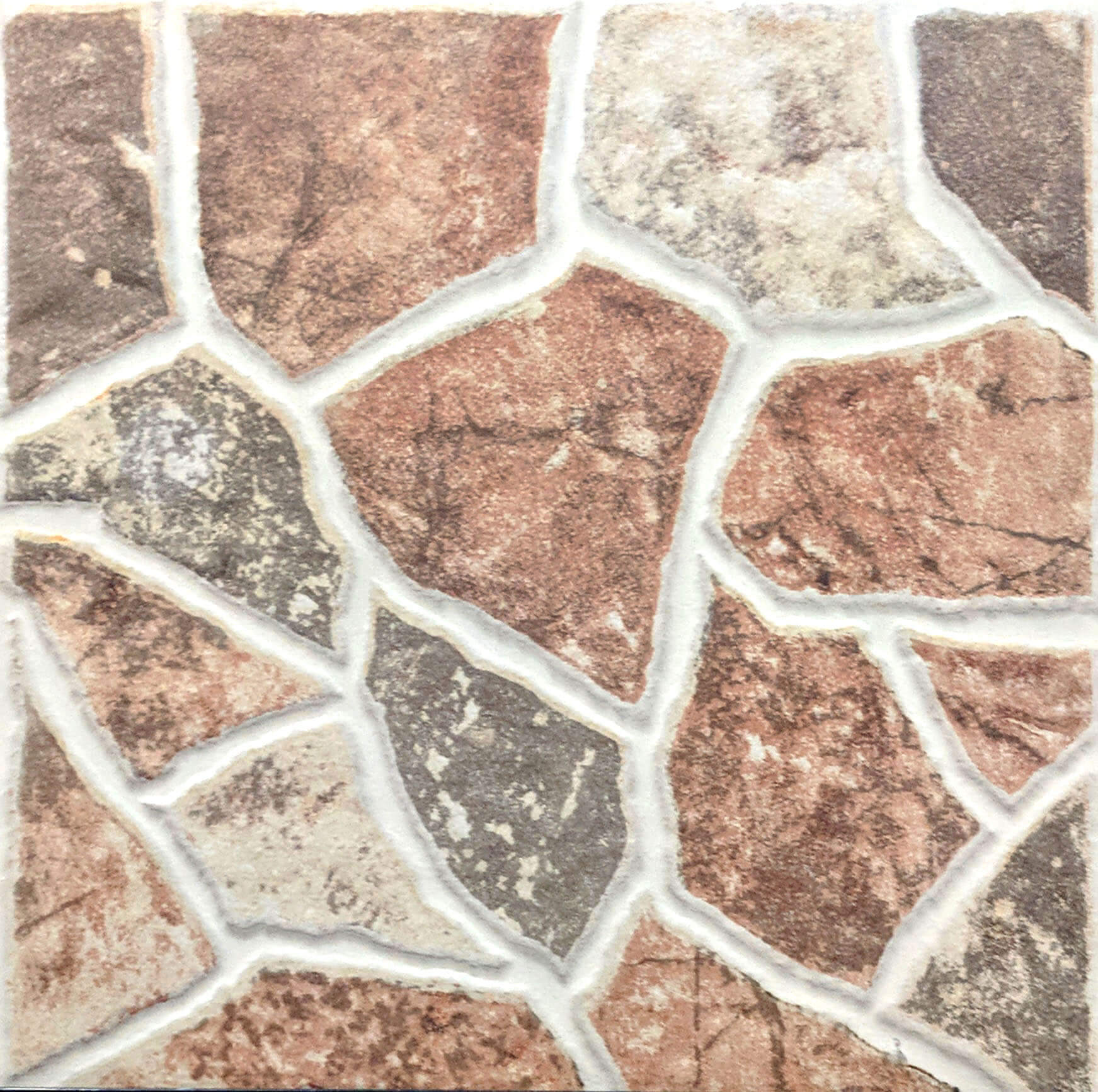 Tiles Rustic 30×30 3A233 Stone Brown