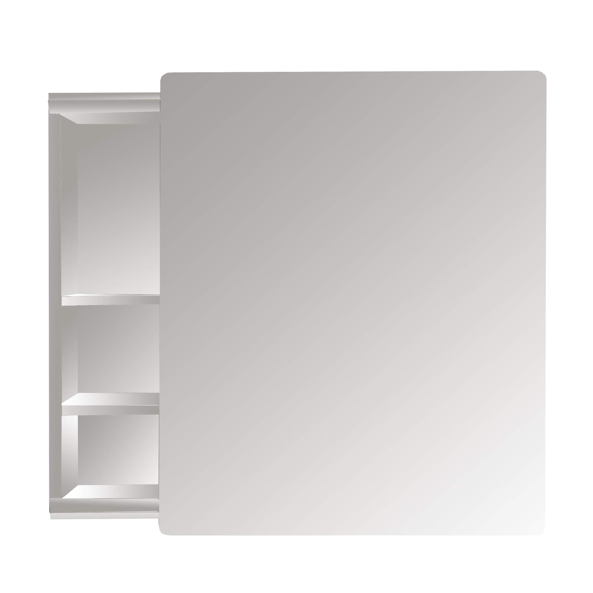 AF Mirror Cabinet Stainless Steel Sliding 46X56