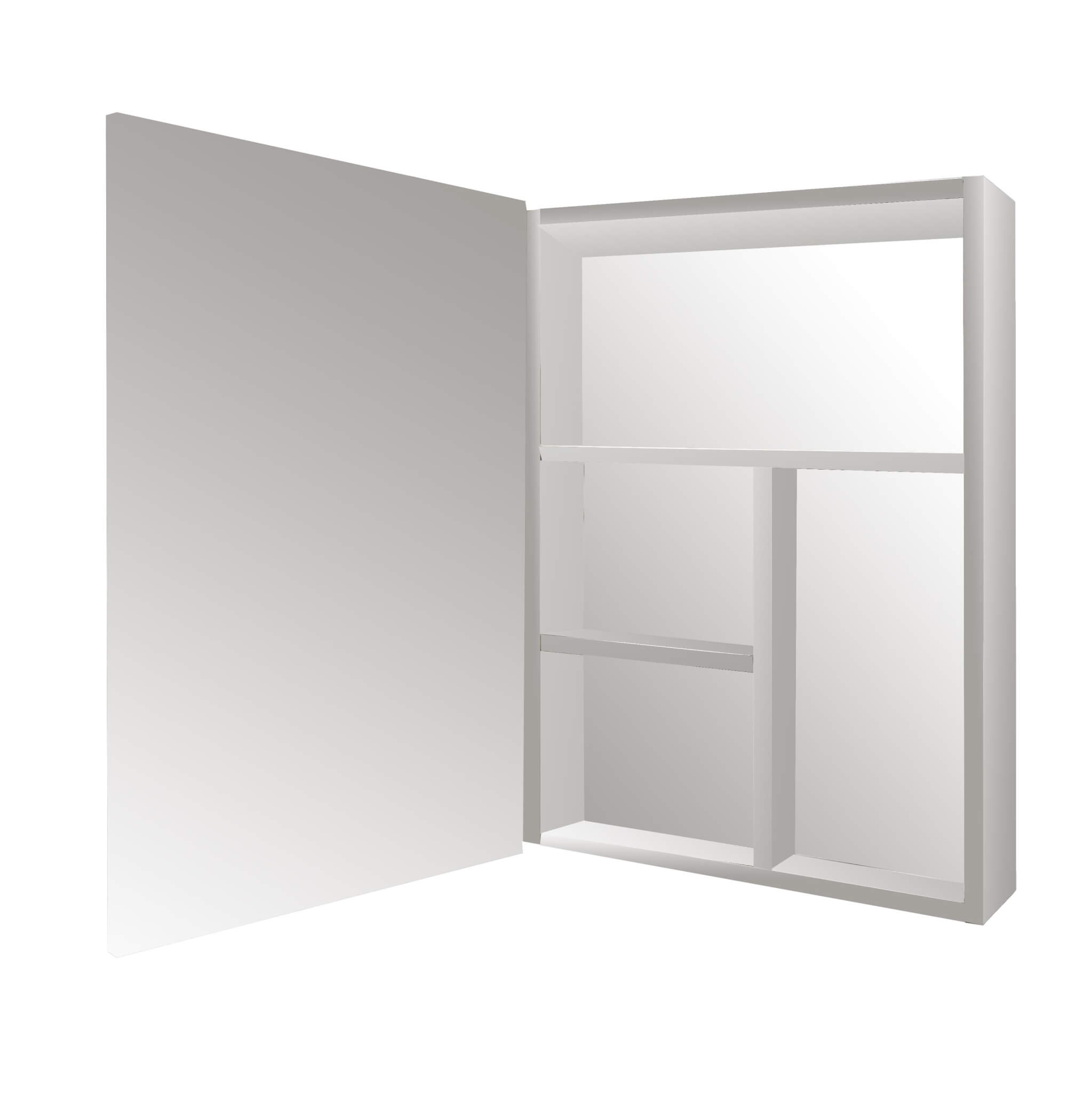AF Mirror Cabinet Stainless Steel Swing 40X60