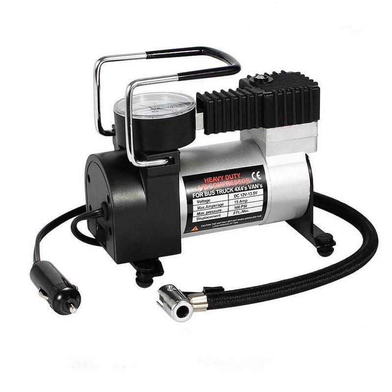 AF Air Compressor for tyres DC12V150PSI – 35L/HR